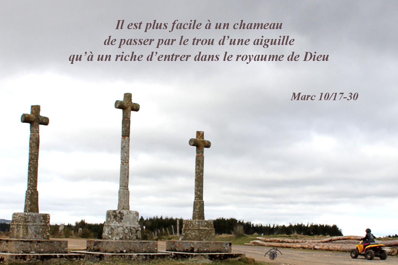 Commentaire de Marc 10,17-30