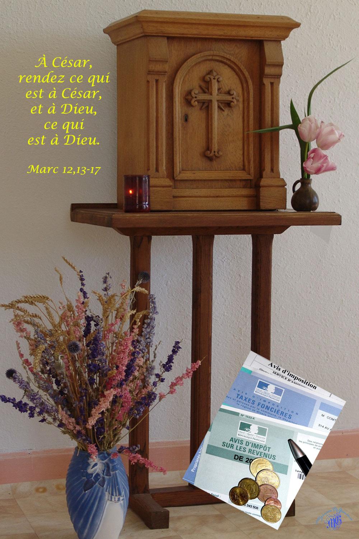 Commentaire de Marc 12,13-17