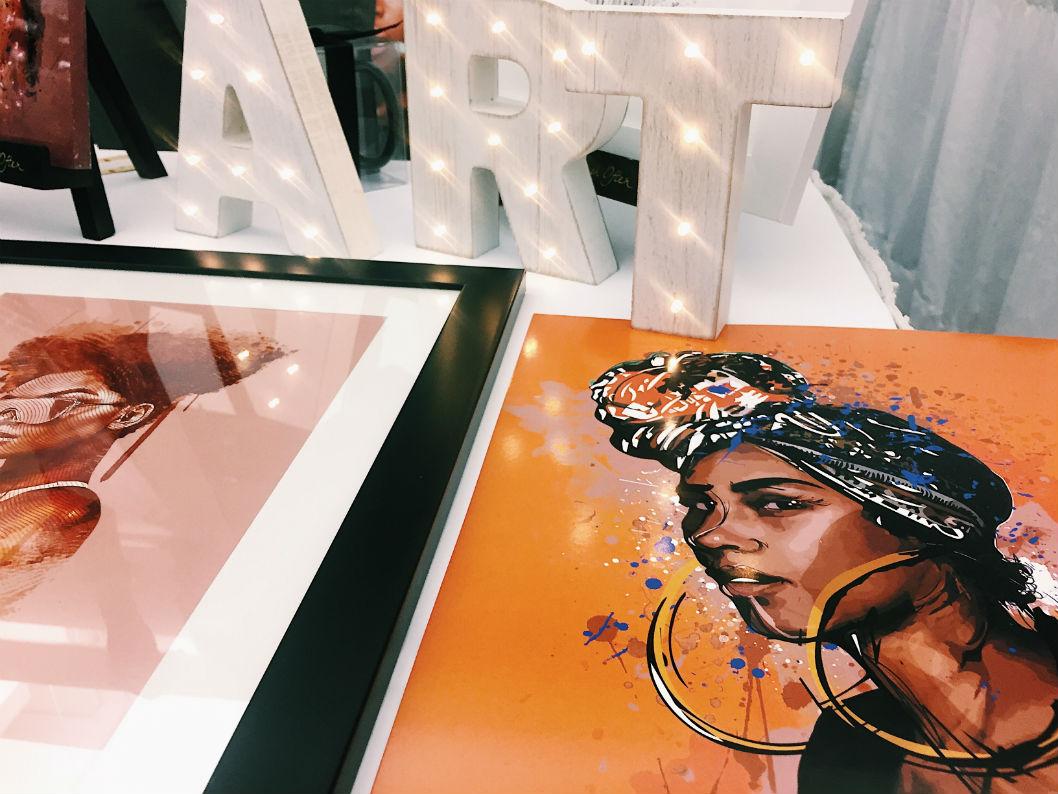 Salon International de la Femme Noire - art
