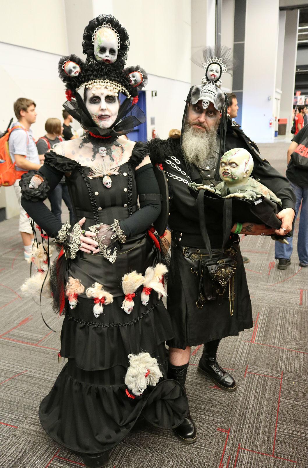 Comiccon couple