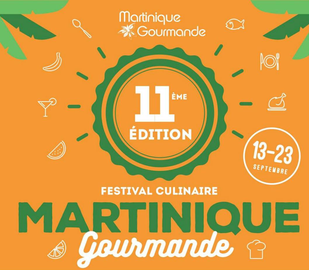Les assiettes ensoleilles de Martinique Gourmande arrivent grands pas