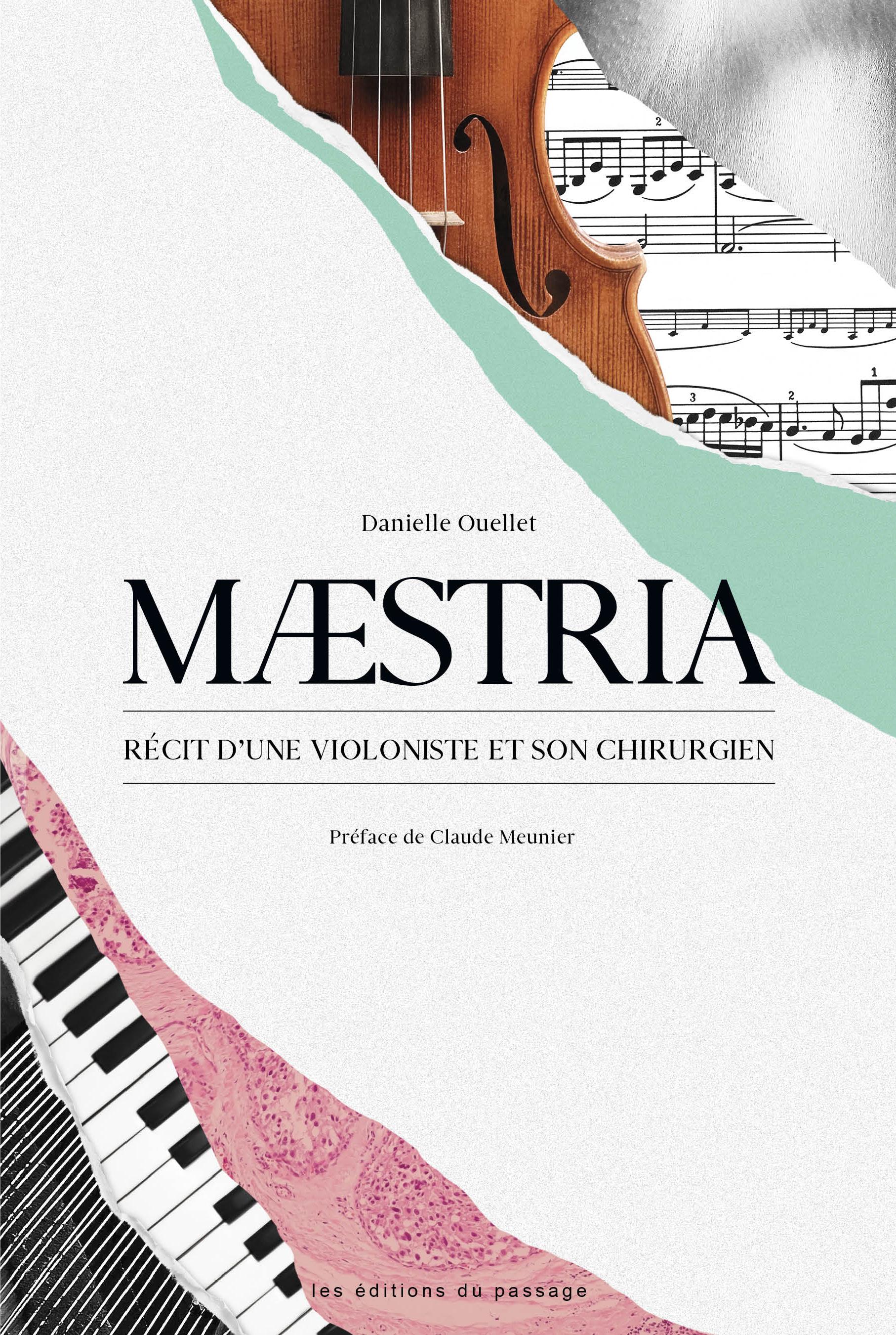 Cover_Maestria_livre de Danielle Ouellet
