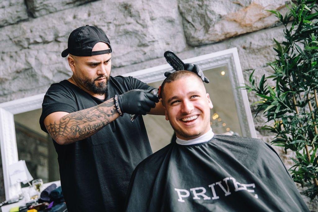 Soirée District Party au Vieux-Montréal Geneviève Giguère photo coiffeur