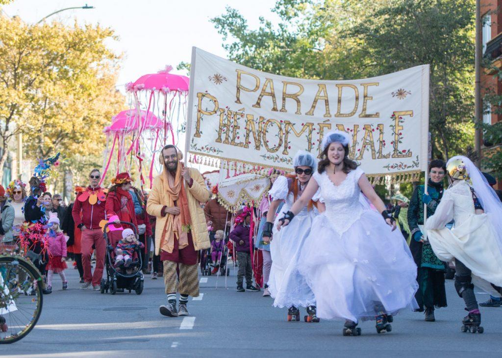 Parade Phénoménale rues Mile-End