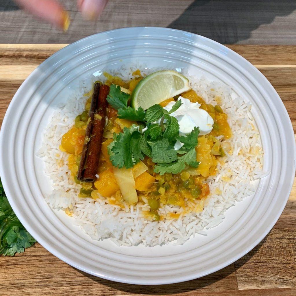 KIND notre curry aux lentilles