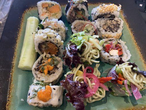 Sushi Momo avec de bons sushis