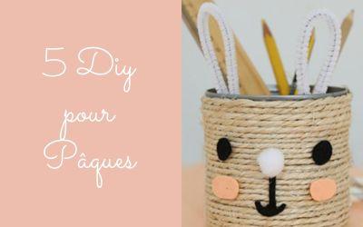 5 DIY enfants pour Pâques