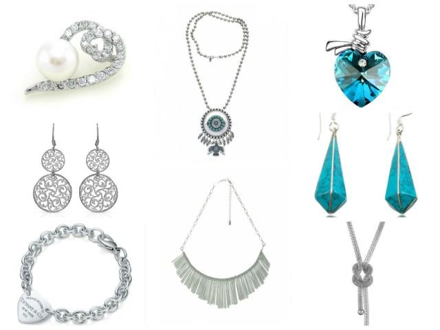 Bijoux argentés