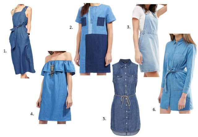 La robe en jean 1