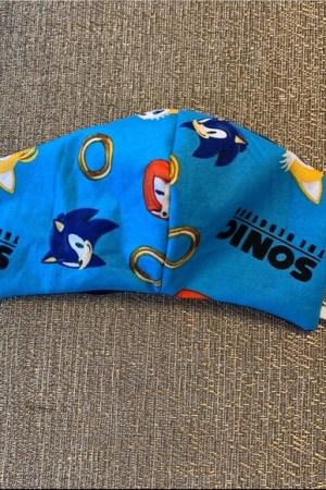 Sonic The Hedgehog Kids Face Mask