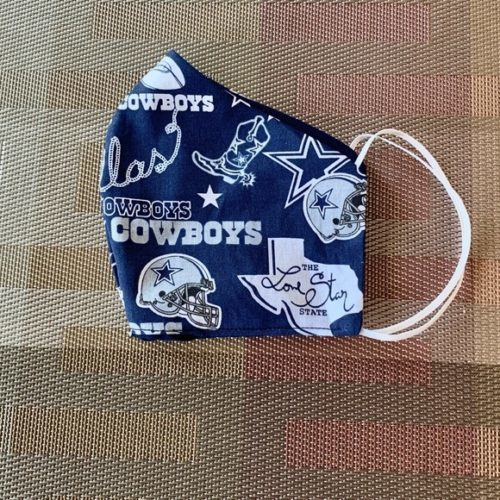 Adult Cowboys Face Mask Covering