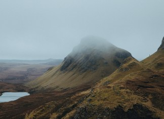 The Quiraing on the Isle of Skye.