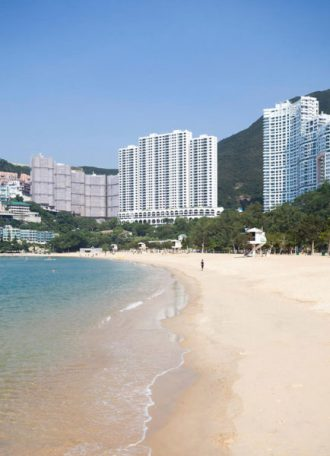 Repulse Bay Beach on Hong Kong Island's Southside