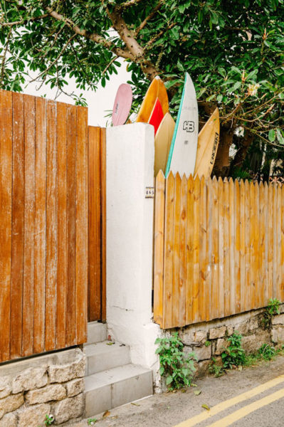 Surf boards in Shek O