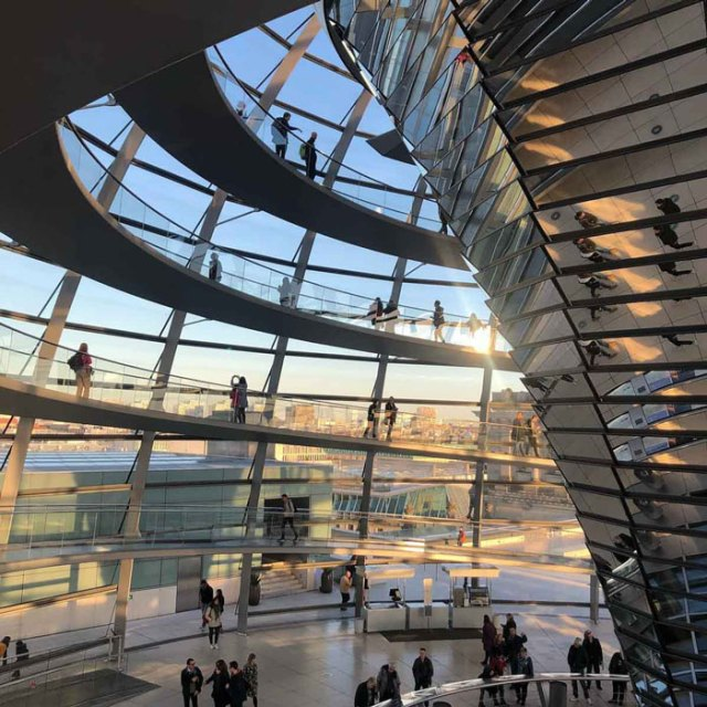 Reichstag Dome in Berlin