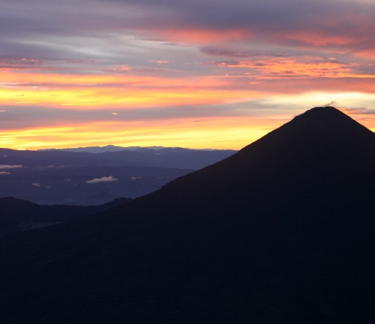 mt fuego sunrise