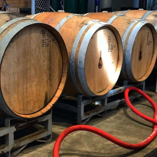 beer barrels at breweries in st. louis