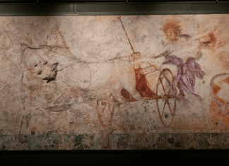 ancient greek mural
