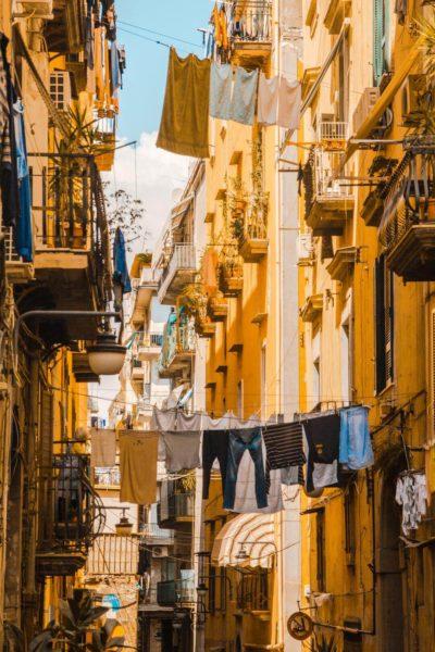 Elena Ferrante tour of Naples, Italy.