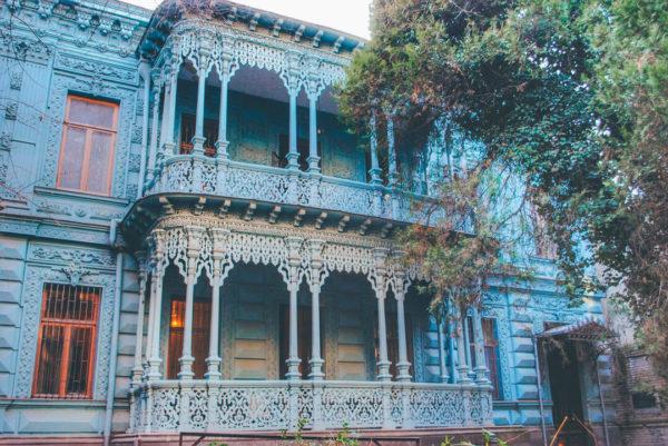 Tbilisi's famous Lace House.
