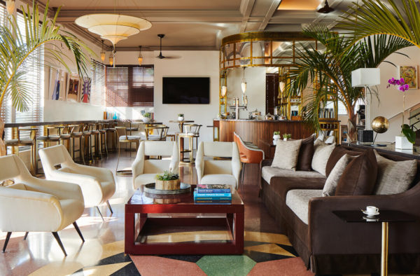 chic lounge in hotel betsy south beach