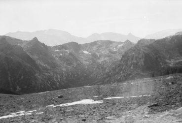 layered jagged mountains