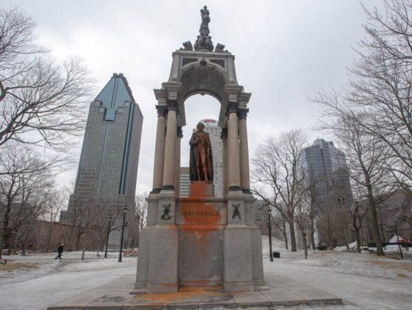 macdonald monument in montreal