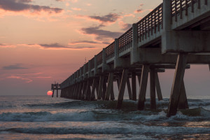 Sunrise in Jacksonville, FL. (Photo Credit: Kevin Lu)