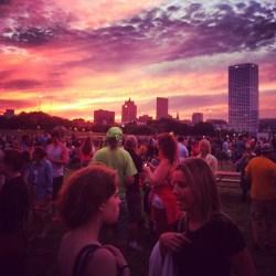 Urban Island Festival at Lakeshore State Park, Milwaukee, Wisconsin