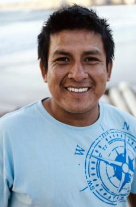 A Fisherman in Paita (Photo Credit: Jeff McAllister)
