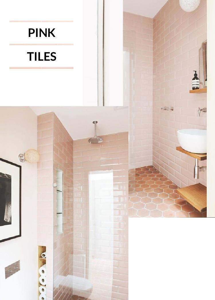 4 Ways To Get The Pink Modern Bathroom Look