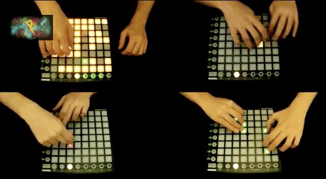 ชม Clip ที่สาธิตการ Mix เพลงเก๋ๆ จากการใช้  Launchpad