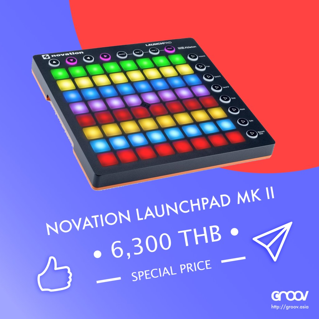 Novation Launchpad Mk 2 with Ableton Live