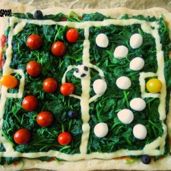 The FOOTBALL pizza