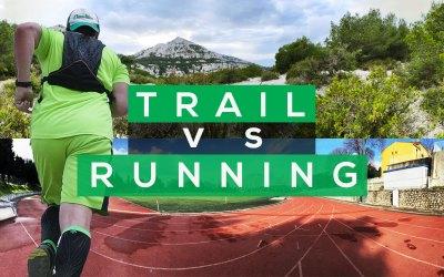 TRAIL VS RUNNING