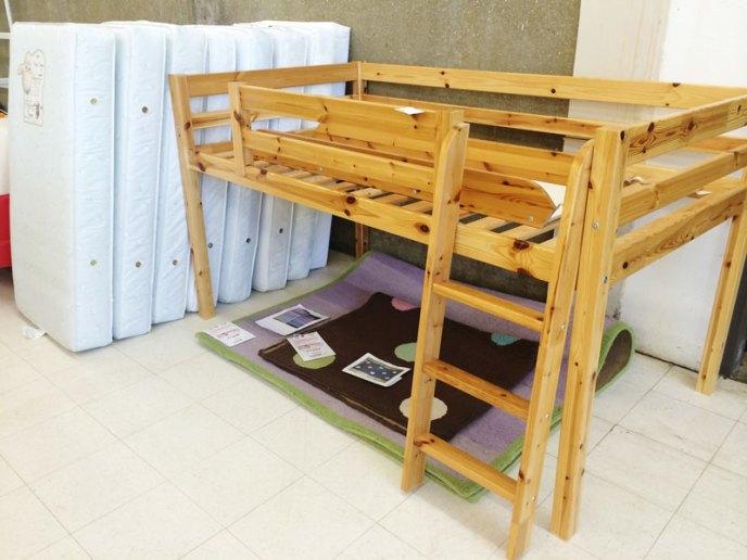 loftbed-wooden