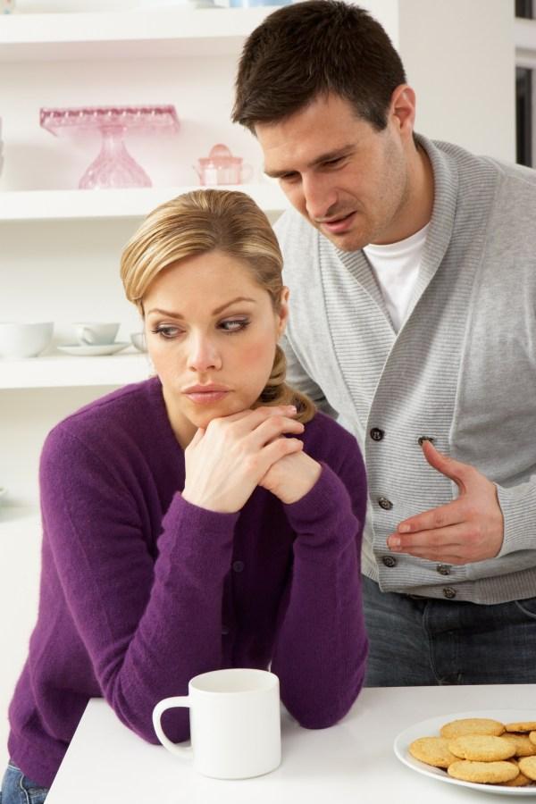 Couple Having Argument At Home | Passive Aggressive
