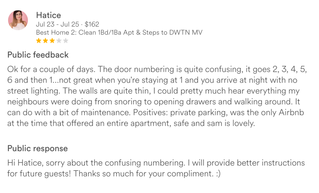 Airbnb Reviews: How to Best Handle Negative Guest Reviews
