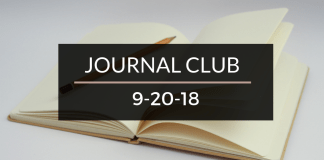 Journal Club 9-20-18