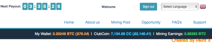 Bitclub Network bitcoin income