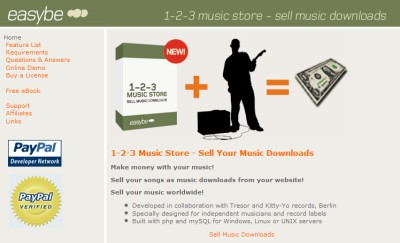 The 1-2-3 Music Store