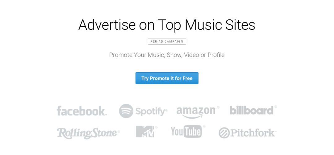 What Artists Should Know About ReverbNation's Promote It - Passive