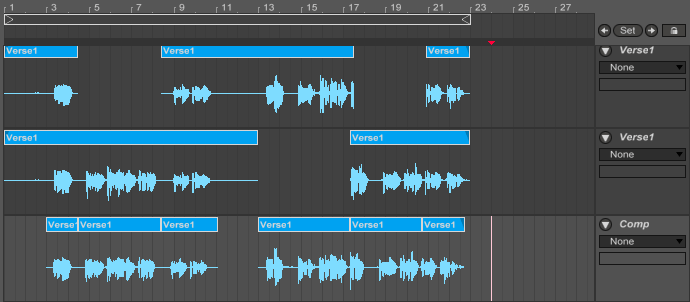 how to play vocals ableton