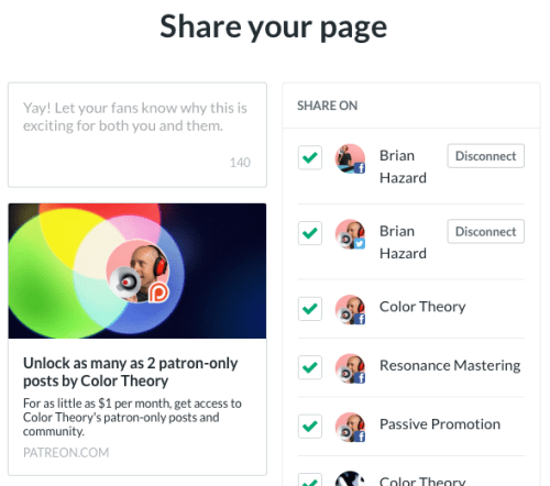 Why I Chose Patreon - Passive Promotion