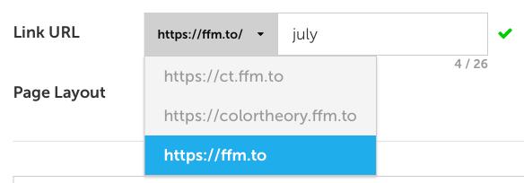 link URL
