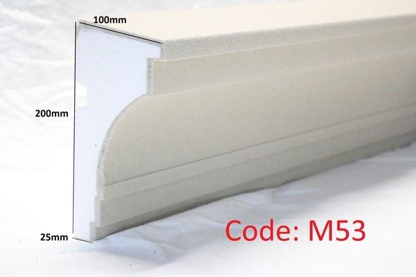 200mm x 100mm Moulding in sandstone