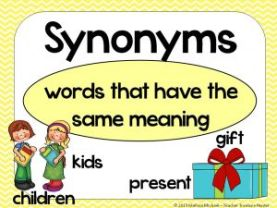 JSS2 English Language Third Term: Synonyms/Antonyms and