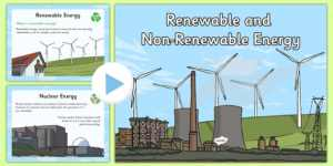 JSS1 Basic Science Third Term: Renewable Energy And Non-Renewable Energy
