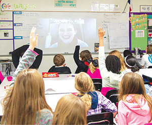 RURAL SCHOOLS CONNECT TO INDUSTRY PROFESSIONALS VIRTUALLY