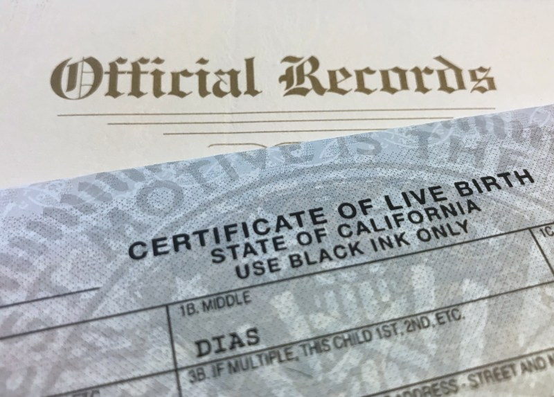 Birth certificate required to fly to South Africa